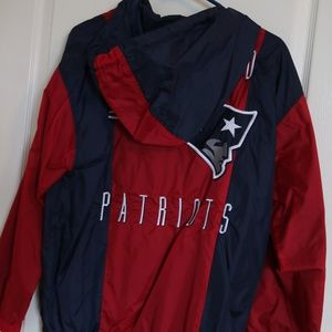 official photos 6f609 5a057 Forever 21 Patriots windbreaker